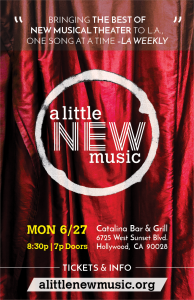 A LITTLE NEW MUSIC set for Catalina premiere, with new songs